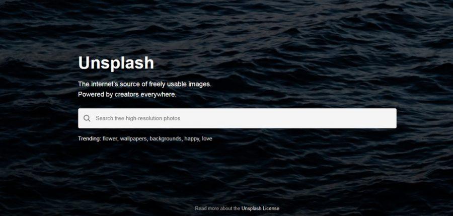 Unsplash immagini gratuite